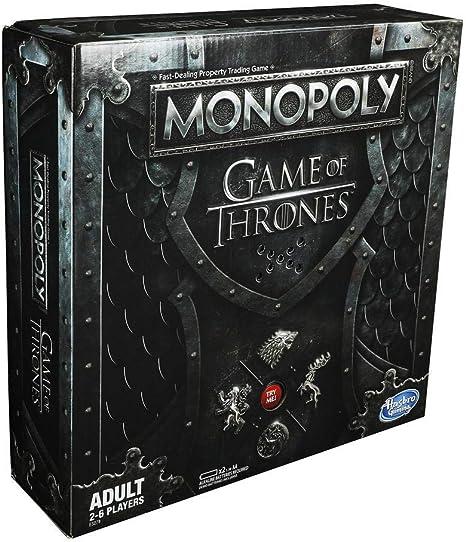 Monopoly Mesa de Juego de Tronos para Adultos, Multicolor (Hasbro ...