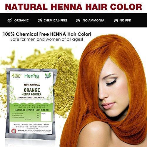 Amazon Com Allin Exporters Light Brown Henna Hair Color 100