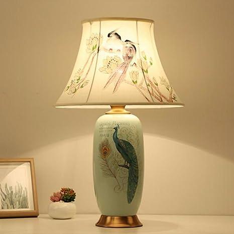 CJSHV-Lámpara de mesa Lámpara De Cerámica Creativa Hecha A ...