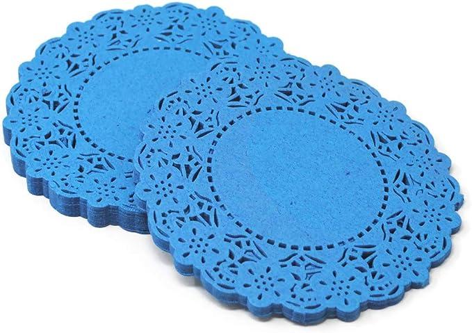 200 Blondas Papel Azul No 5 12 5cm Fiesta Candybar