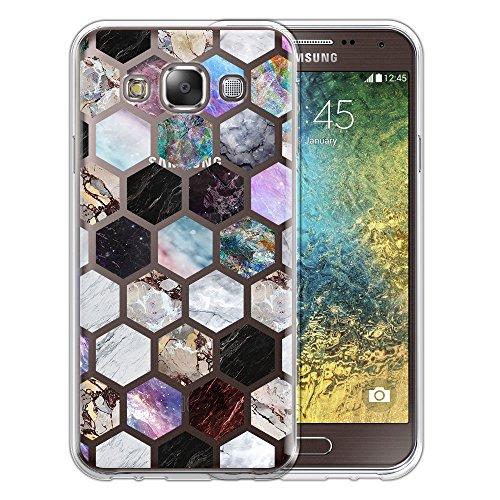 Silicone Soft Case for Samsung Galaxy E5 (Clear) - 8