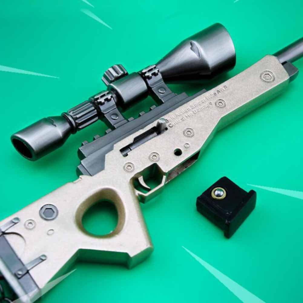 Amazon.com: LLAMEVOL Llavero para hombres Fort-Nite FN SCAR ...