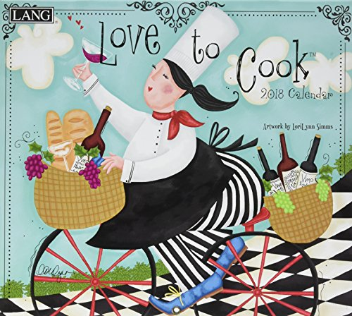 Love to Cook 2018 Calendar