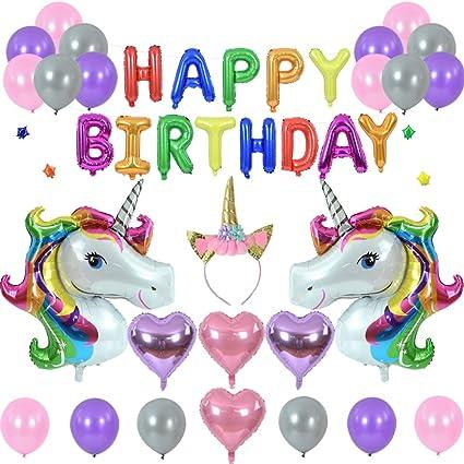 36 Unicorn Head Balloon,Unicorn Decorations,Unicorn Party,Marble Balloons,Unicorn Theme,Unicorn Birthday Party,Unicorn Balloons