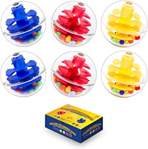 WEofferwhatYOUwant Activity and Replacement Balls for Baby and Toddlers - Ball Ramp Toy Ball Extras for More Action