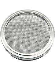 BESTONZON Tapas de brotación de Acero Inoxidable DE 3,3 Pulgadas para frascos de albañil de Boca Ancha para Hacer Semillas de germinado orgánico en la casa y la Cocina