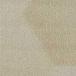 "product image for Shaw Bevel Hexagon Carpet Tile Ivory 24.9"" x 28.8"" x 14.4"" Builder(45 sq ft/ctn) - 1 Box"