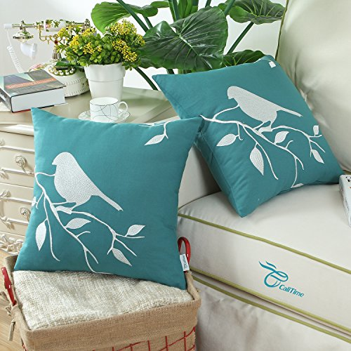 Decorative Pillow Packs : Pack of 2, CaliTime Cushion Covers Throw Pillow Cases Shells - Import It All