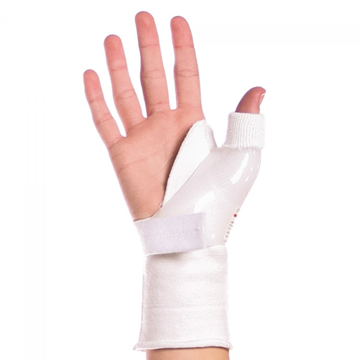 BraceAbility Skier's Thumb Brace | Treats UCL Ligament Injuries and Tears, Tendonitis, Immobilizes your Thumb Joint after Sprains, Fractures or Surgery (S - Right Hand)