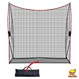 Strong Camel Portable 10'x9'x3' Golf Net Practice Hitting Net Training Driving Indoor Outdoor