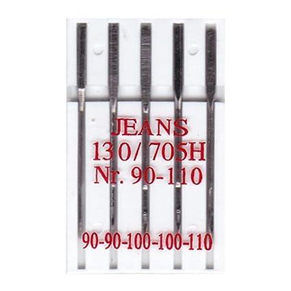 BIG-SAM 10002 – 5 Jeans Máquina de Coser Agujas – 130R/705H –