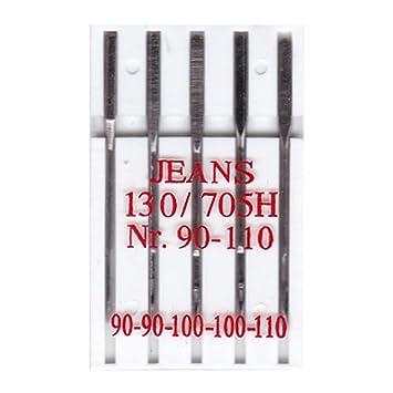 BIG-SAM 10002 – 5 Jeans Máquina de Coser Agujas – 130R/705H – Nº 90 – 110