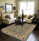 Traditional Area Rugs for Living Room 8x10 Green Large Rugs For Dining Room Clearance 8 by 10 Rugs
