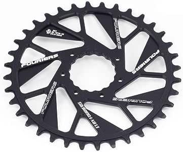 Fouriers MTB - Plato para Bicicleta de montaña (Montura Directa de ...