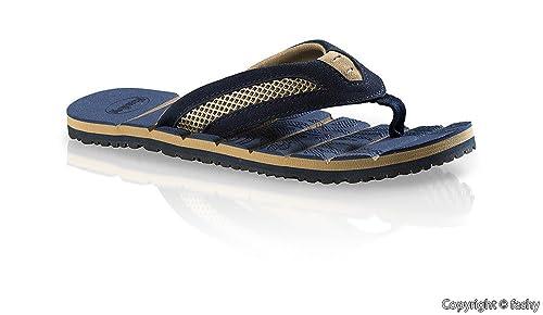 Fashy 7524- Hombre Zapatillas de dedo del pie Zapatos de dedo del pie Zapatillas baño Talla 41-46 / 2 varios colores: Amazon.es: Zapatos y complementos