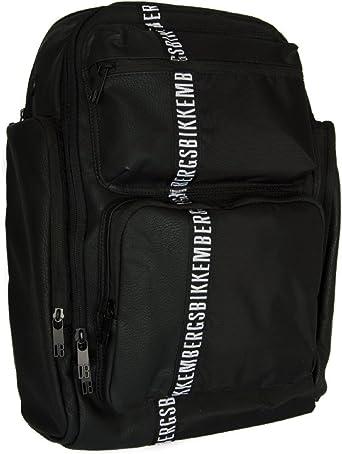 Backpack Unisex Black Bikkemebrgs Backpack Unisex Black