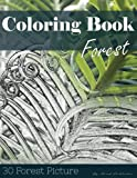 img - for Forest 30 Pictures, Sketch Grey Scale Coloring Book for Kids Adults and Grown Ups: Color me Coloring Book for Mindfulness and Stress Relief Relaxation (Volume 6) book / textbook / text book
