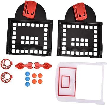 Zerodis- Juguete de Tiro de Baloncesto Mini Juegos de Baloncesto ...