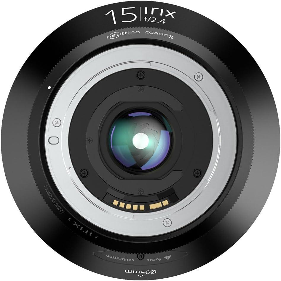 Irix 15mm f//2.4 Firefly Lens for Canon