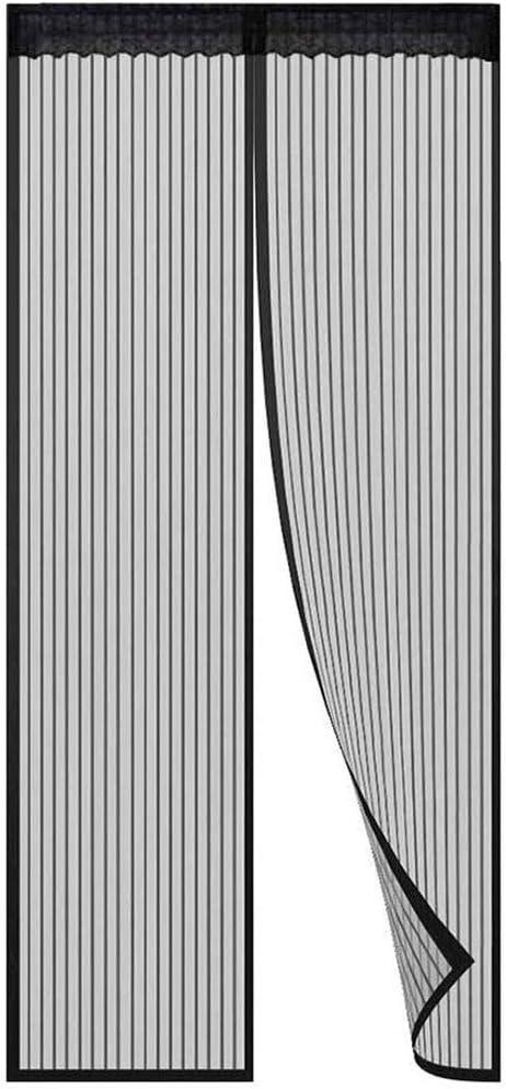 KSITH Moustiquaire Porte Magn/étique Fermeture Automatique Rideau Anti Insectes Mouche Moustique Avec Aimants Sans Per/çage,Couloirs Portes Patio
