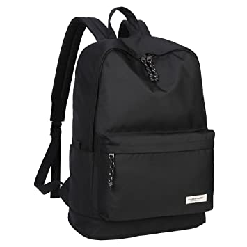 Amazon.com: KAKA Waterproof Backpack Laptop Backpack Black Large ...