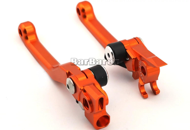 CNC Pivot de frein /& embrayage levier de levier de frein Levier dembrayage Dirt Bike pour KTM SX 65//85//105