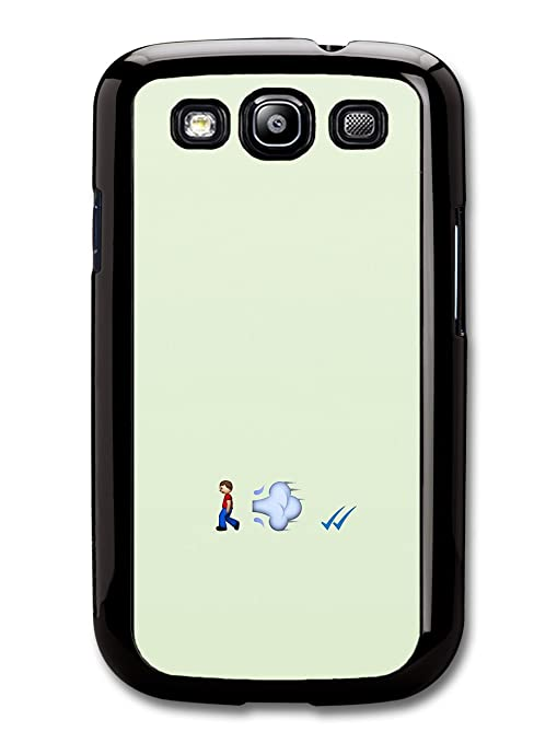 Emoji Fart and Tick Funny carcasa de Samsung Galaxy S3 ...
