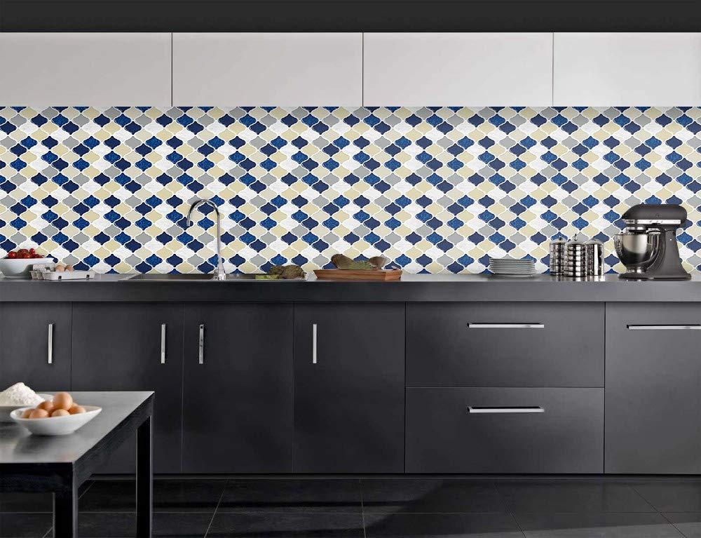 Cocotik Peel and Stick Wall Tile, Self-Adhesive Kitchen Backsplash, 10.5