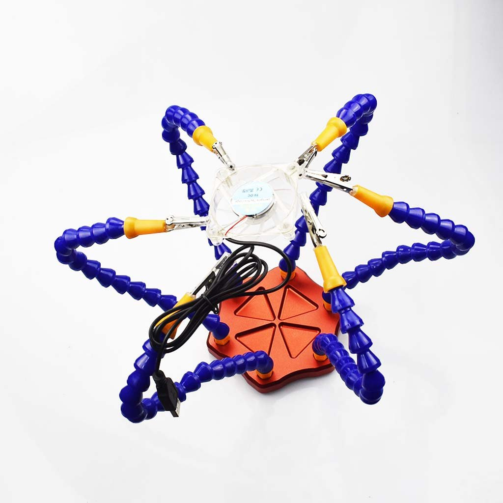 Flexible Arm Helping Hands Clip Soldering PCB Part For FPV Racing Workstation