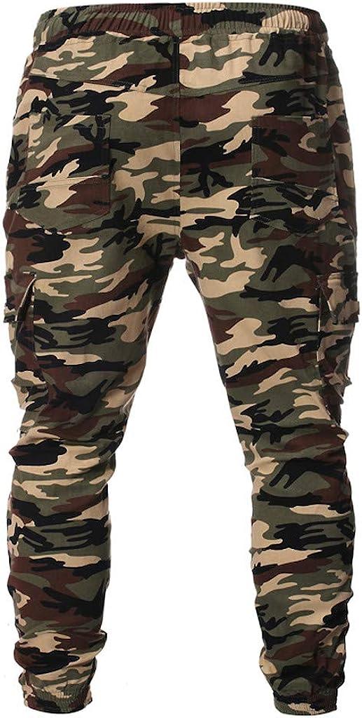 JiaMeng Pantalon Cargo Hombre Pantalones de chándal Pantalones de ...