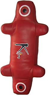 Kfire Cuir synthétique MMA Dummy Wrestling Punching ball–Motion Master pour arts martiaux Style Red Pakistan
