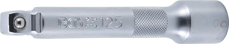 matt verchromt 12,5 125 mm BGS 234 Kippverlängerung 1//2