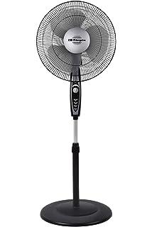 Orbegozo SF 0149 - Ventilador de pie con 5 aspas, 3 velocidades ...