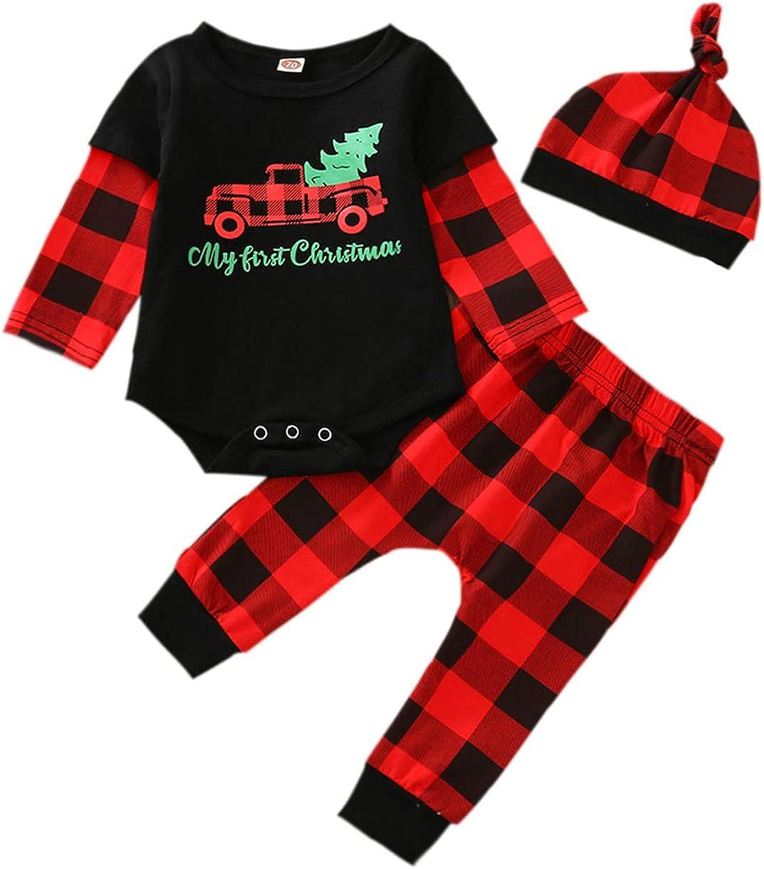ALLTB Newborn Unisex Baby Cartoon Antlers Fleece Snowsuit Playsuit Infant Winter Christmas Warm Footie Hoodie Jumpsuit Romper