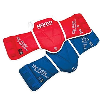 6d6821df69392 Mooto WTF Approved Taekwondo Chest Guard Reversible Hogu 1 to 5