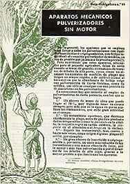 Folleto: HOJA DIVULGADORA Nº 48. APARATOS MECÁNICOS PULVERIZADORES SIN MOTOR.