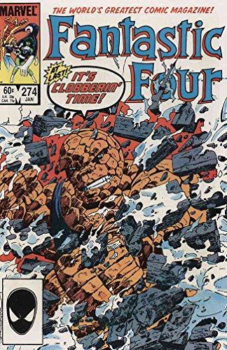 Spider Man The Alien Costume Part 4 (Fantastic Four (Vol. 1) #274 VF/NM ; Marvel comic book)
