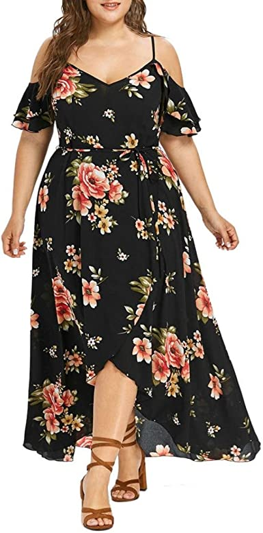 short summer plus size dress