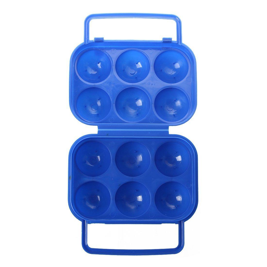 naranja Contenedor de almacenamiento portatiles de plastico plegable portador TOOGOO R
