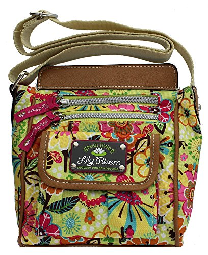 Lily Bloom Jamie Crossbody Bag, Busy Bees