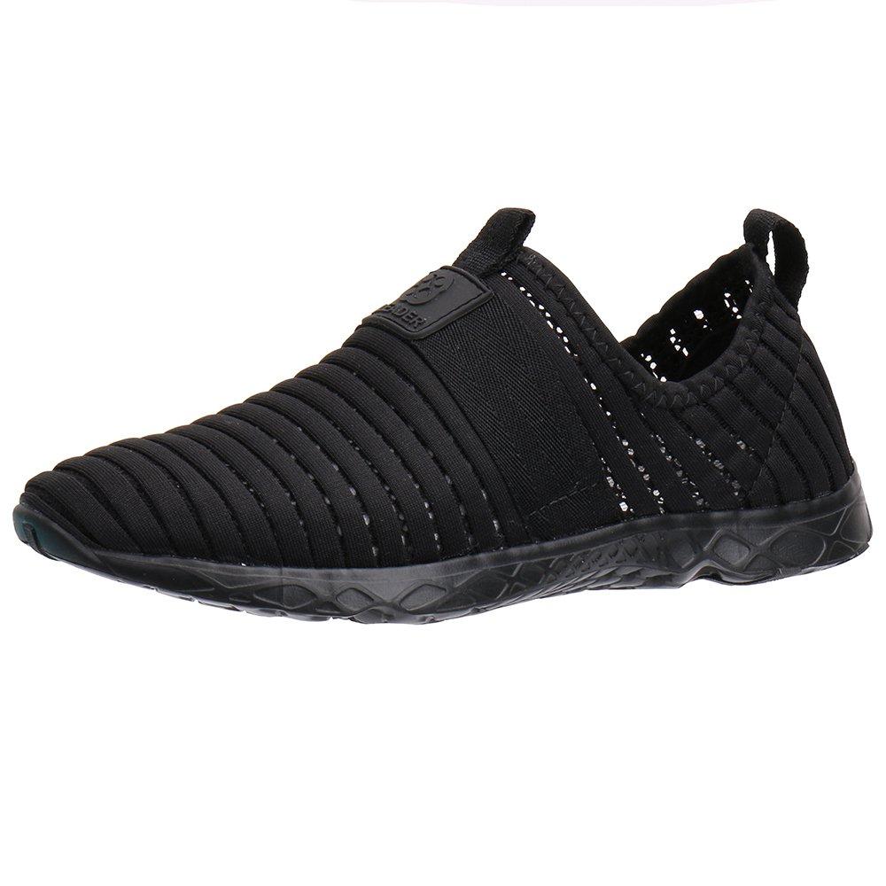 ALEADER Water Sport Shoes Women's Tennis Walking Shoes Black 8 D(M) US