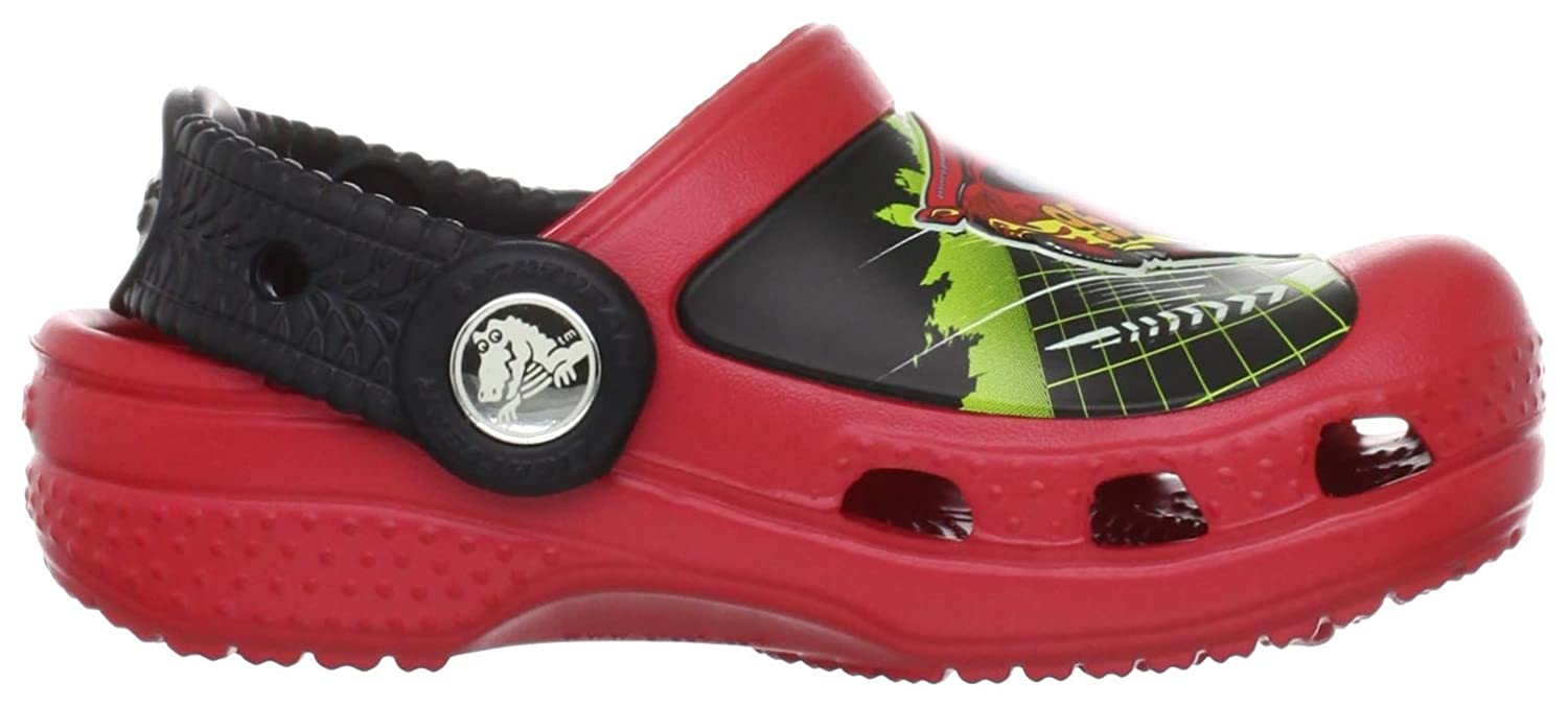 9a0ee45746a crocs 14831 Lightning Mcqueen Clog (Toddler/Little Kid),Red,2 M US Little  Kid: Amazon.ca: Shoes & Handbags