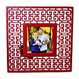 Nimble House  Home Decor Stunning Antique Design Photo Frame - Picture Size 4x4 Inches Square Photo Frame