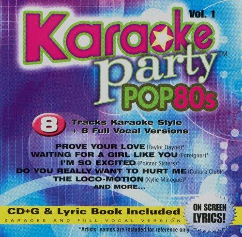 Karaoke Party Pop 80s Volume 1 ()