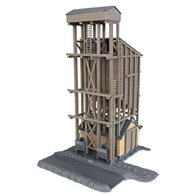 Walthers Trainline HO Scale Model Coaling Tower: Toys & Games