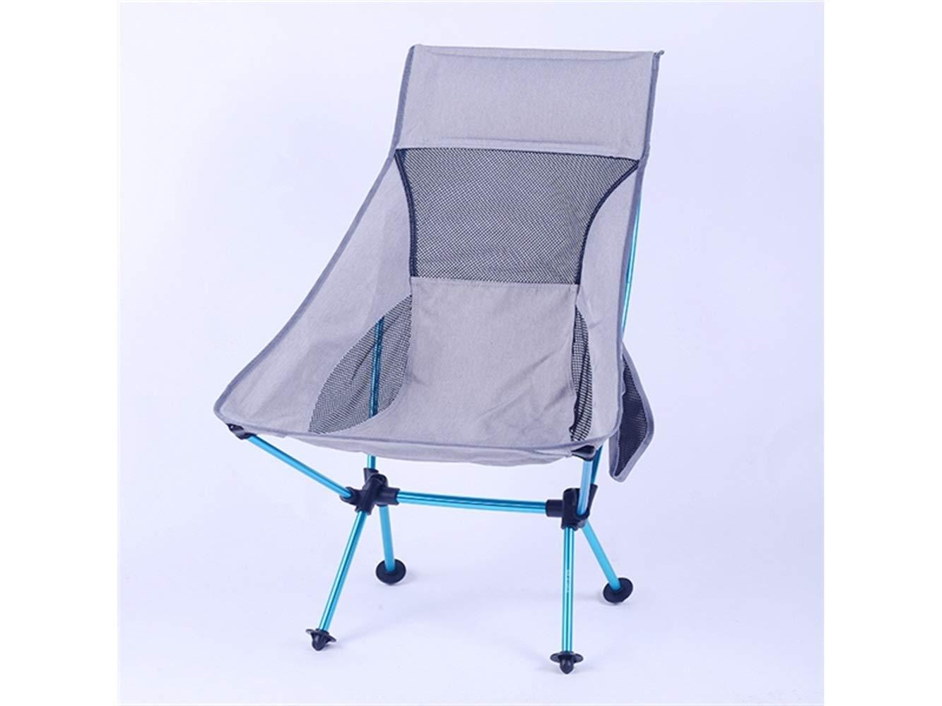 LMKIJN Bequemer Stuhl Outdoor-Klapp Angeln Stuhl Liege Camping Stuhl Strand Liege für Camping und Angeln für den Urlaub