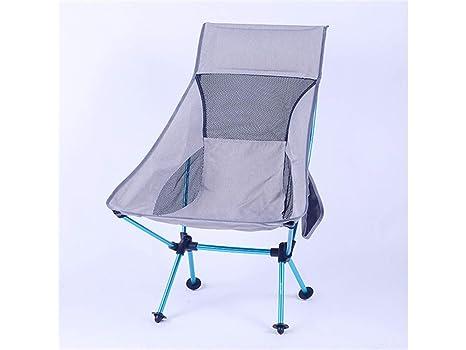 PanpA Silla de Playa Plegable al Aire Libre Silla de Camping ...