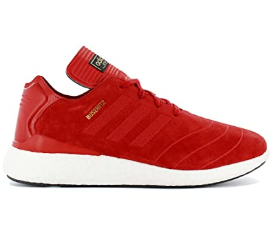 adidas Busenitz Pure Boost F37885 Herren Schuhe Rot Grösse