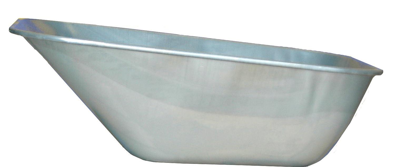 profi-baukarre Schubkarrenmulde Typ 128, passend für Fagro Schubkarren, 1 Stück, verzinkt, 010121