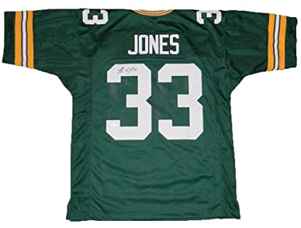 6ea7b2d9 Image Unavailable. Image not available for. Color: Autographed Aaron Jones (Green  Bay Packers) Jersey ...